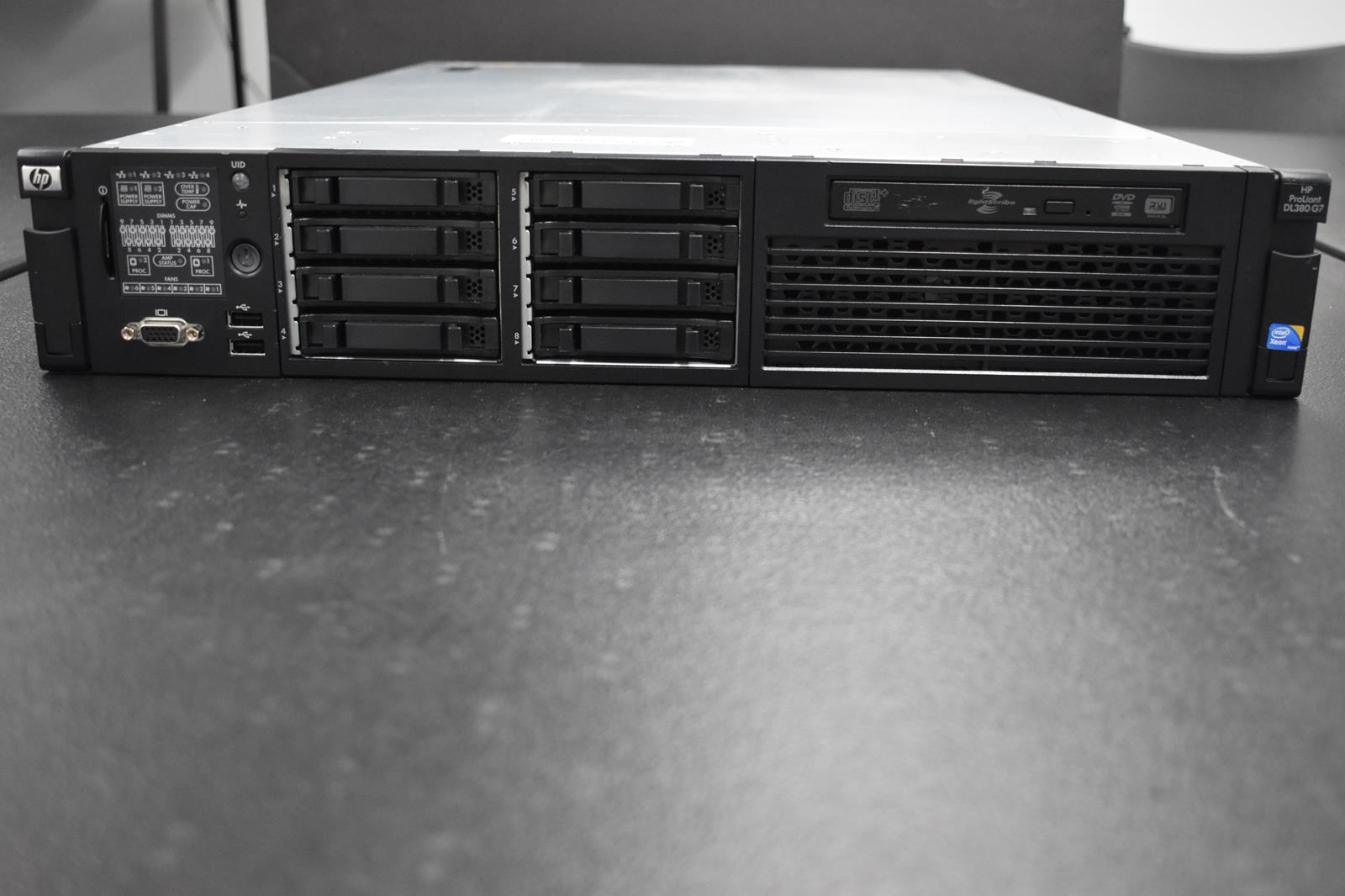 HP ProLiant DL380 G7 Dual Intel Xeon X5660 2.80 GHz 32 GB Server
